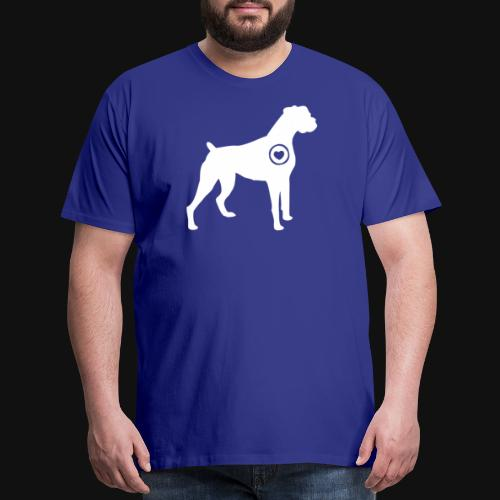Boxer love - Men's Premium T-Shirt