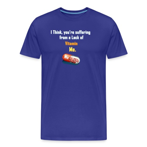 Vitamin Me - Computer Resolution - Men's Premium T-Shirt