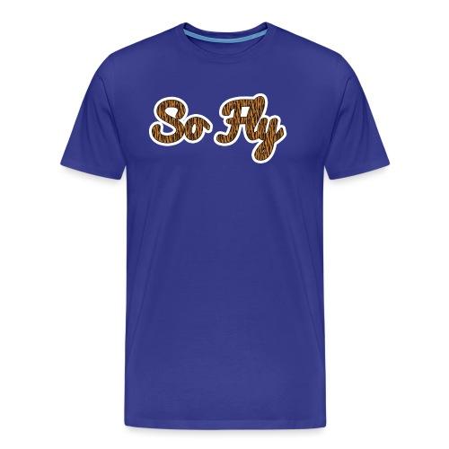 So Fly Tiger - Men's Premium T-Shirt