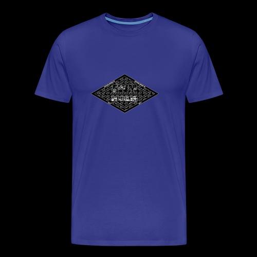 Limited Edition (B&W) FWM Founder Badge - Men's Premium T-Shirt