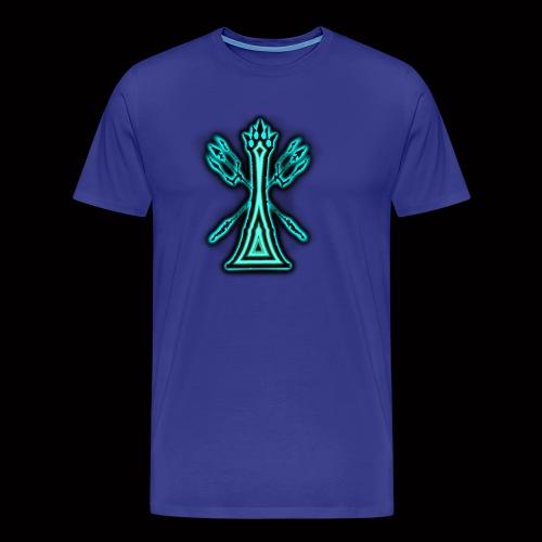 kingoftheblueflame - Men's Premium T-Shirt