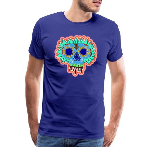 Hippy Día de Muertos - Men's Premium T-Shirt