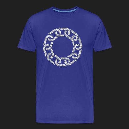 Brotherhood Hex Design - Men's Premium T-Shirt