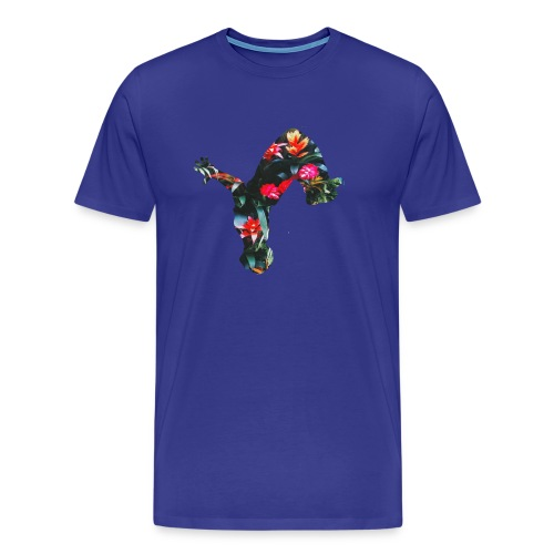 Tropical uproar flip logo - Men's Premium T-Shirt