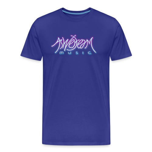 Glow Logo - Men's Premium T-Shirt