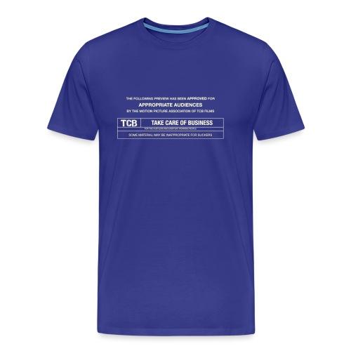TCB Films Disclamer - Men's Premium T-Shirt