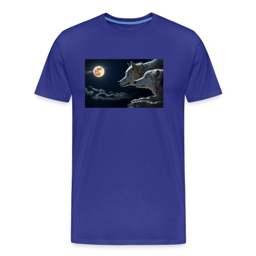wolf 547203 1280 - Men's Premium T-Shirt