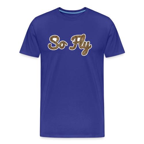 So Fly Cheetah - Men's Premium T-Shirt