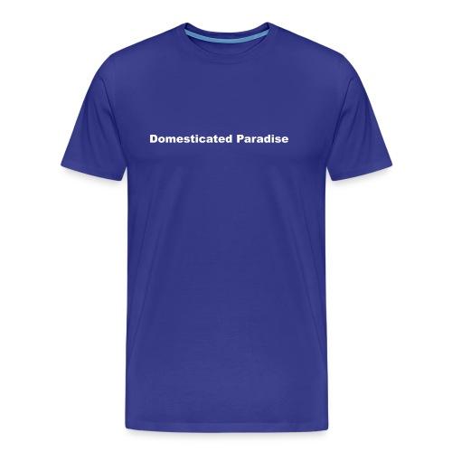 dpfinalcropwhite - Men's Premium T-Shirt