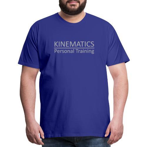 Kinematics Personal Training Gray - Men's Premium T-Shirt