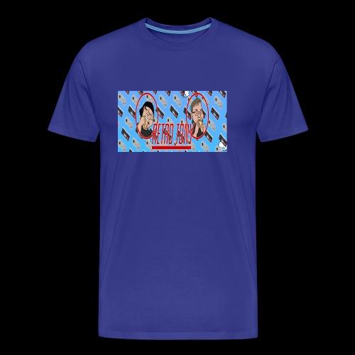 Retro Tony - Men's Premium T-Shirt