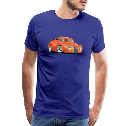 Custom Street Rod Vintage Car Cartoon - Men's Premium T-Shirt