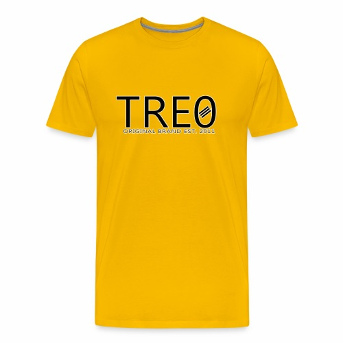 TRE0 Brand Glow White - Men's Premium T-Shirt