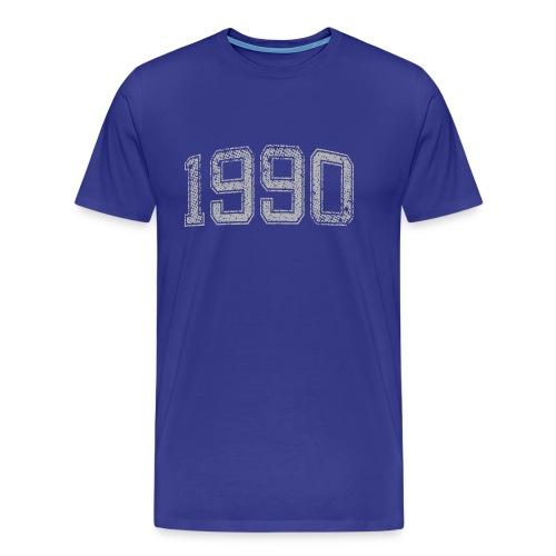 1990 Year Vintage - Men's Premium T-Shirt
