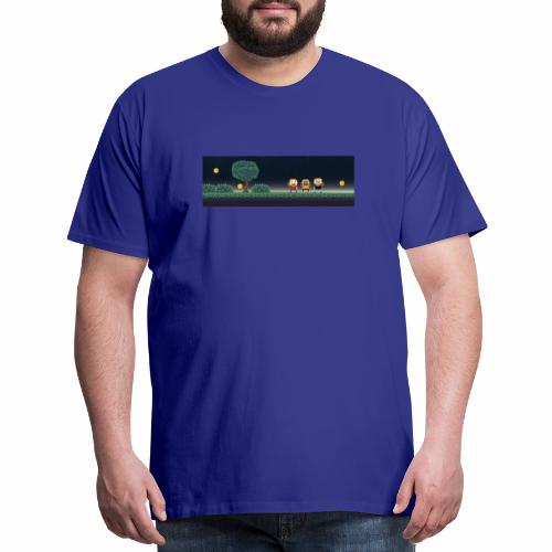 Twitter Header 01 - Men's Premium T-Shirt