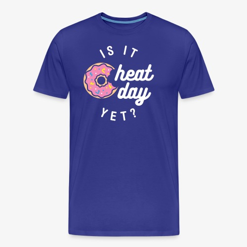 Is It Cheat Day Yet? (Donut) - Men's Premium T-Shirt