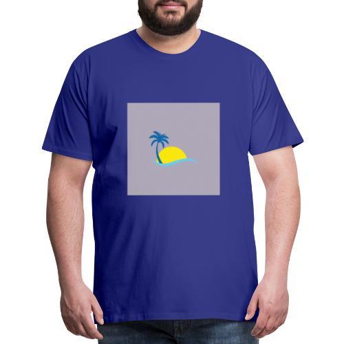 New model sun off plant - Men's Premium T-Shirt
