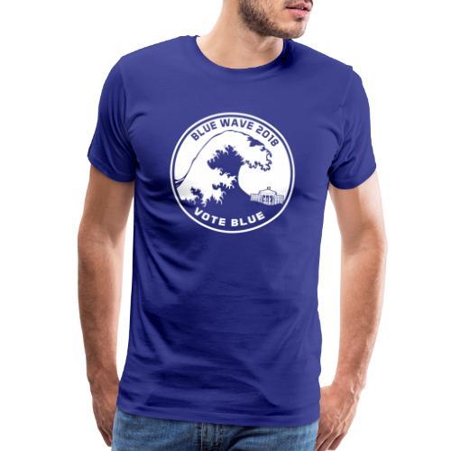 Blue Wave 2018 Vote Blue - Men's Premium T-Shirt