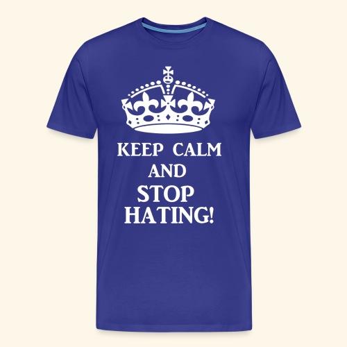 stoph8ingwht - Men's Premium T-Shirt