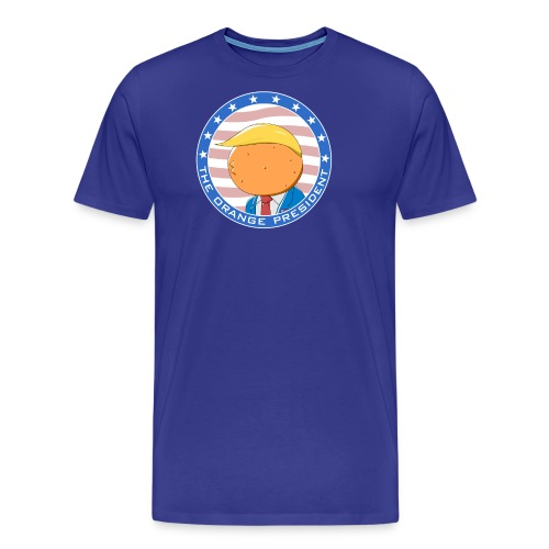 The Orange President Funny Trump - Men's Premium T-Shirt