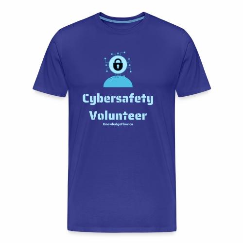 Cybersafety Volunteer - Men's Premium T-Shirt