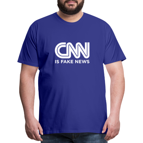 CNN Is Fake News - Men's Premium T-Shirt