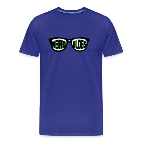 The_Nerd_Vlogs_-_logo - Men's Premium T-Shirt