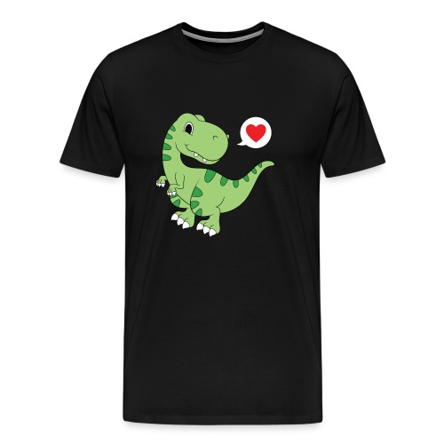 Dinosaur Love - Men's Premium T-Shirt