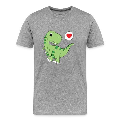 Dinosaur Love - Men's Premium T-Shirt