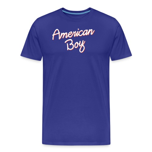American Boy - Men's Premium T-Shirt