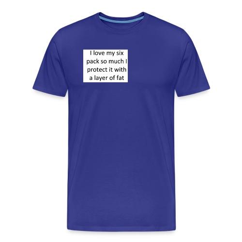 funny phone case - Men's Premium T-Shirt