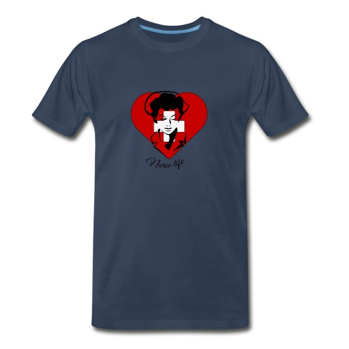 nurselife - Men's Premium T-Shirt
