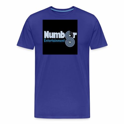NUMBER8ENTERTAINMENT - Men's Premium T-Shirt