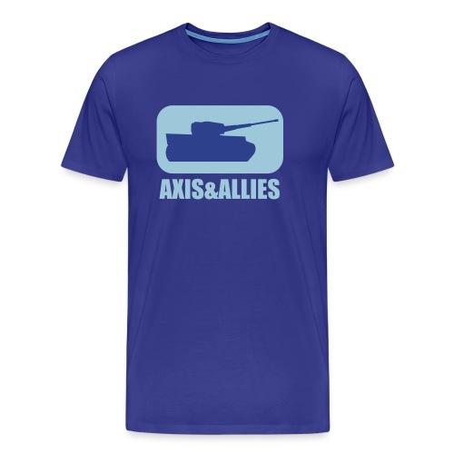 Axis & Allies Tank Logo - Dark - Men's Premium T-Shirt