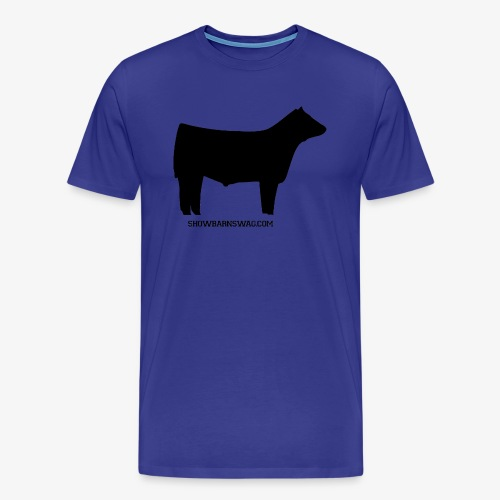 Show Steer Black - Men's Premium T-Shirt