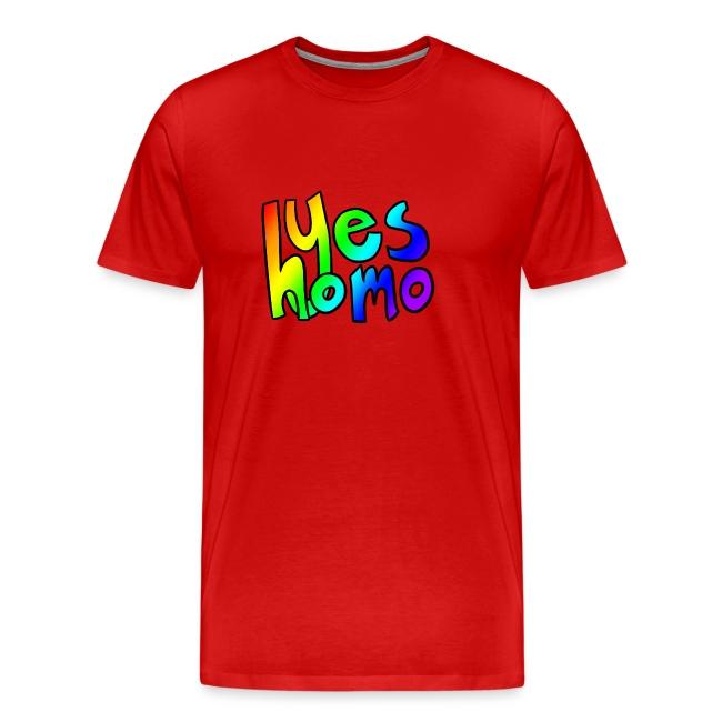 Yes Homo (Rainbow)