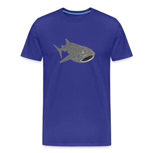 save the whale shark sharks fish dive diver diving - Men's Premium T-Shirt