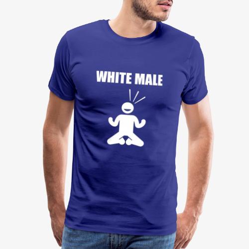 white male knees - Men's Premium T-Shirt