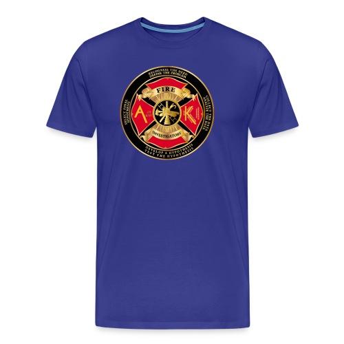 Alaska Association of Fire and arson investigators - Men's Premium T-Shirt