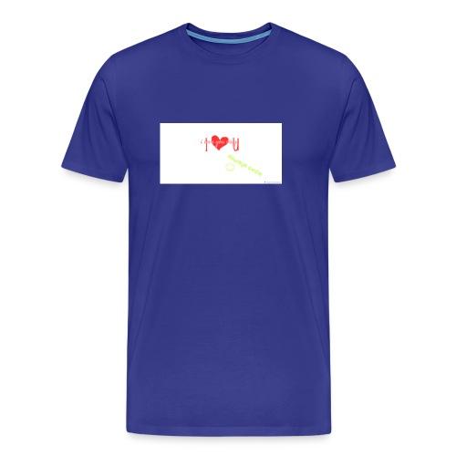 I love my sister merch - Men's Premium T-Shirt