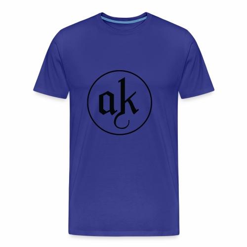 AK LOGO Black - Men's Premium T-Shirt