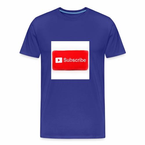 Subscribe T=shirts - Men's Premium T-Shirt