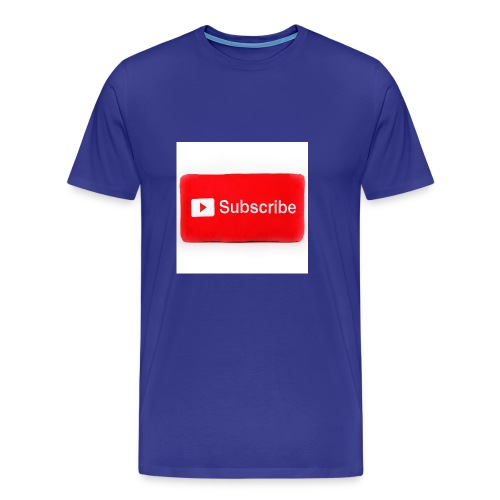 Subscribe T=shirts - Men's Premium T-Shirt