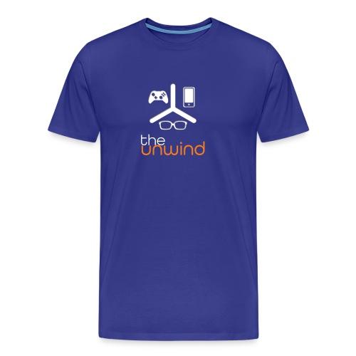 The Unwind (Orange) - Men's Premium T-Shirt