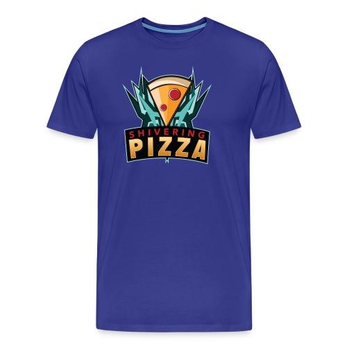 Shiveringpizza Logo - Men's Premium T-Shirt