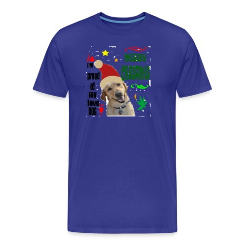 christmas with your dog - Men's Premium T-Shirt
