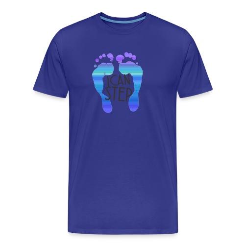 I.C.A.N.S.T.E.P. MOTTO - Men's Premium T-Shirt