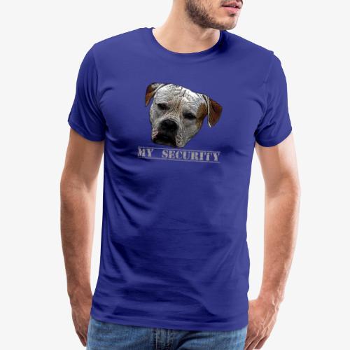 Pitbull ,Bulldogs,Watchdog - Men's Premium T-Shirt