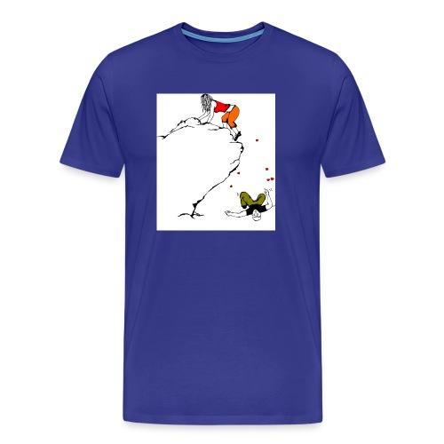 Lady Climber - Men's Premium T-Shirt