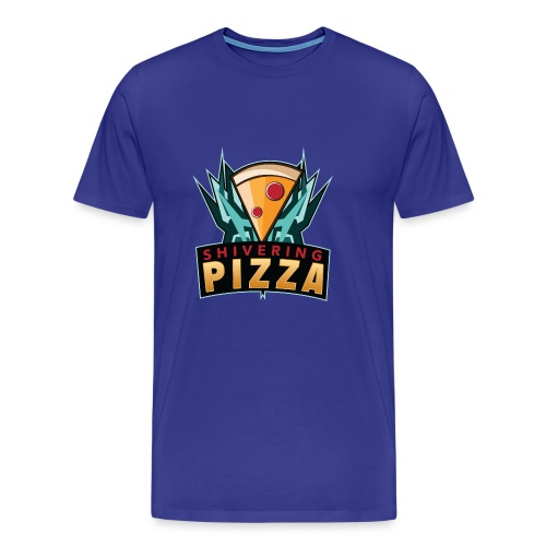Shiveringpizza Logo - Men's Premium T-Shirt